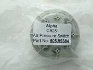 Alpha CB28 Air Pressure Switch