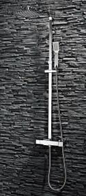 Square Rigid Riser Shower Kit