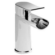 Lou Mono Basin Mixer With Click Clack Waste