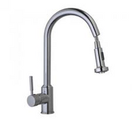 Kitchen Mixer Tap with pull out rinse spray