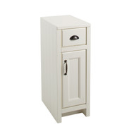 Chartwell 1 Door & 1 Drawer Cabinet - Vanilla
