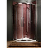 9900mm x 900mm Ocho Shower Quadrant Enclosure