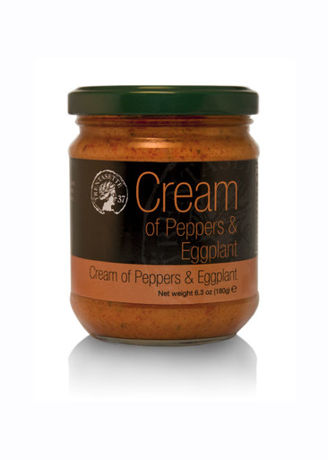 Cream of Peppers and Eggplant