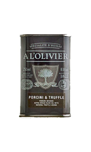 A L'Olivier porcini and truffle olive oil