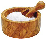 Olive Wood Salt Bowl