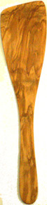Olive Wood Wide Spatula 12.5""