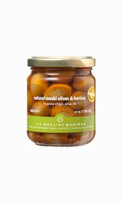 Mahjoub green olives with harissa 7 ounces