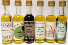 Order petite bottles of olive oil & balsamic