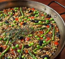 All vegetable paella