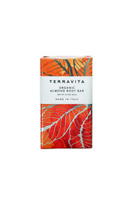 Terravita organic almond body bar soap