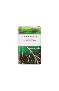 Terravita organic olive body bar soap