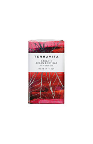 Terravita organic argan body bar soap