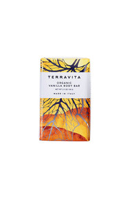 Terravita organic vanilla body bar soap