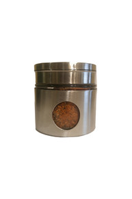 House-made spice blend, glass and stainless jar