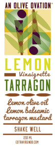 Lemon tarragon salad dressing