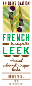 French leek salad dressing label