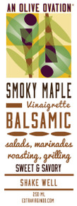Smoky Maple salad dressing label