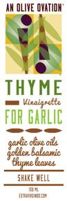 Thyme for Garlic vinaigrette
