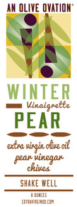 Winter pear salad dressing