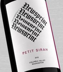 Guardian Cellars Newsprint Petit Sirah red wine