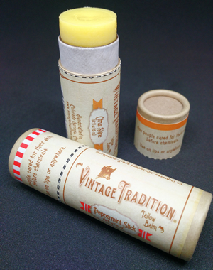 Citrus Shine and Peppermint Stick Tube Tallow Balm