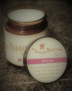 Vintage Tradition Pretty Girly Tallow Balm