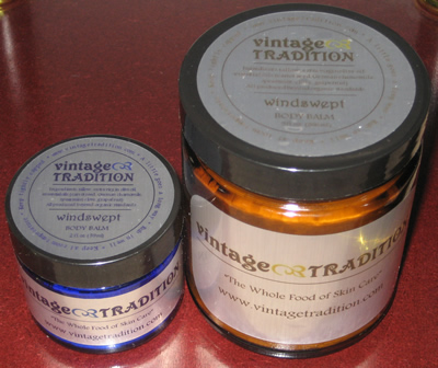Windswept Tallow Balm - for wind-weathered, cracked, and red skin