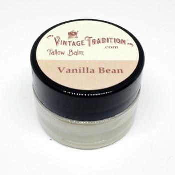 Sample - Vanilla Bean Tallow Balm, 1/4 fl. oz. (7 ml)