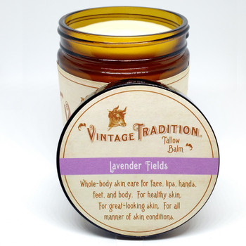 Lavender Fields Tallow Balm, 9 fl. oz. (266 ml)