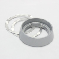 SECURITY RING MORTISE & RIM CYLINDER R#3 (SILVER)