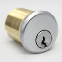 """1-1/2""""  MORTISE CYLINDER M#15 (SILVER)"""