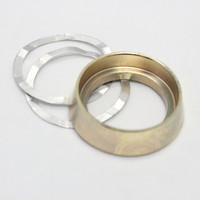 SECURITY RING MORTISE & RIM CYLINDER R#3 (GOLD)