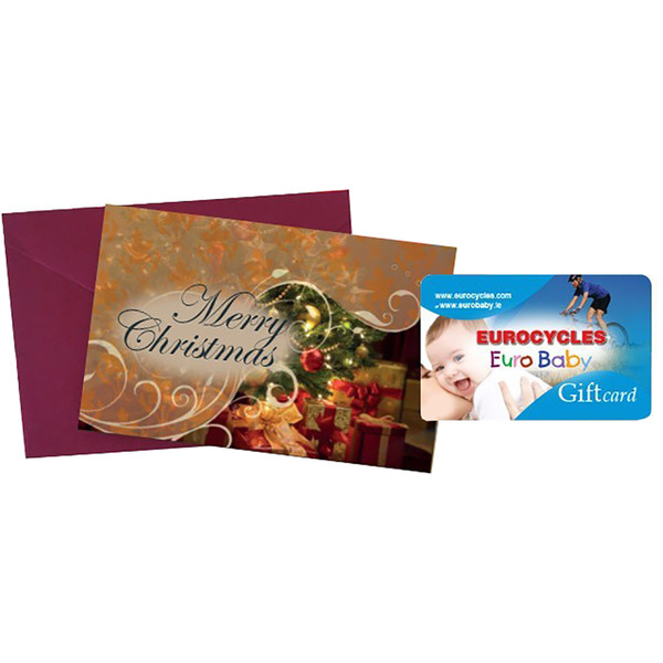 Eurobaby Gift Card Happy Christmas