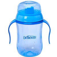 Dr Brown's 180 ml Soft Spout Training Cup - Blue