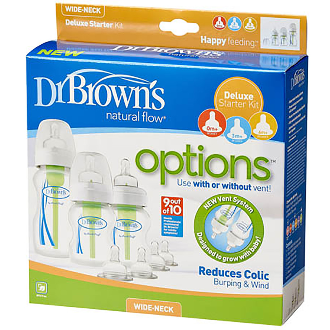 Dr Brown's Options Newborn Starter Kit