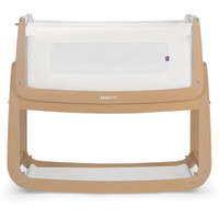 SnuzPod3 Bedside Crib Including Mattress - Natural