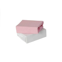 Baby Elegance Jersey Fitted Sheets - Pink