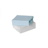 Baby Elegance Jersey Fitted Sheets - Blue