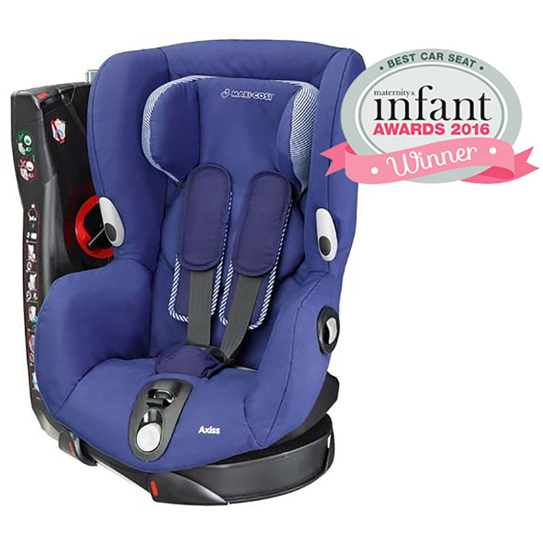 Winner of the Best Car Seat 2016 - Maxi Cosi Axiss Car Seat - River blue