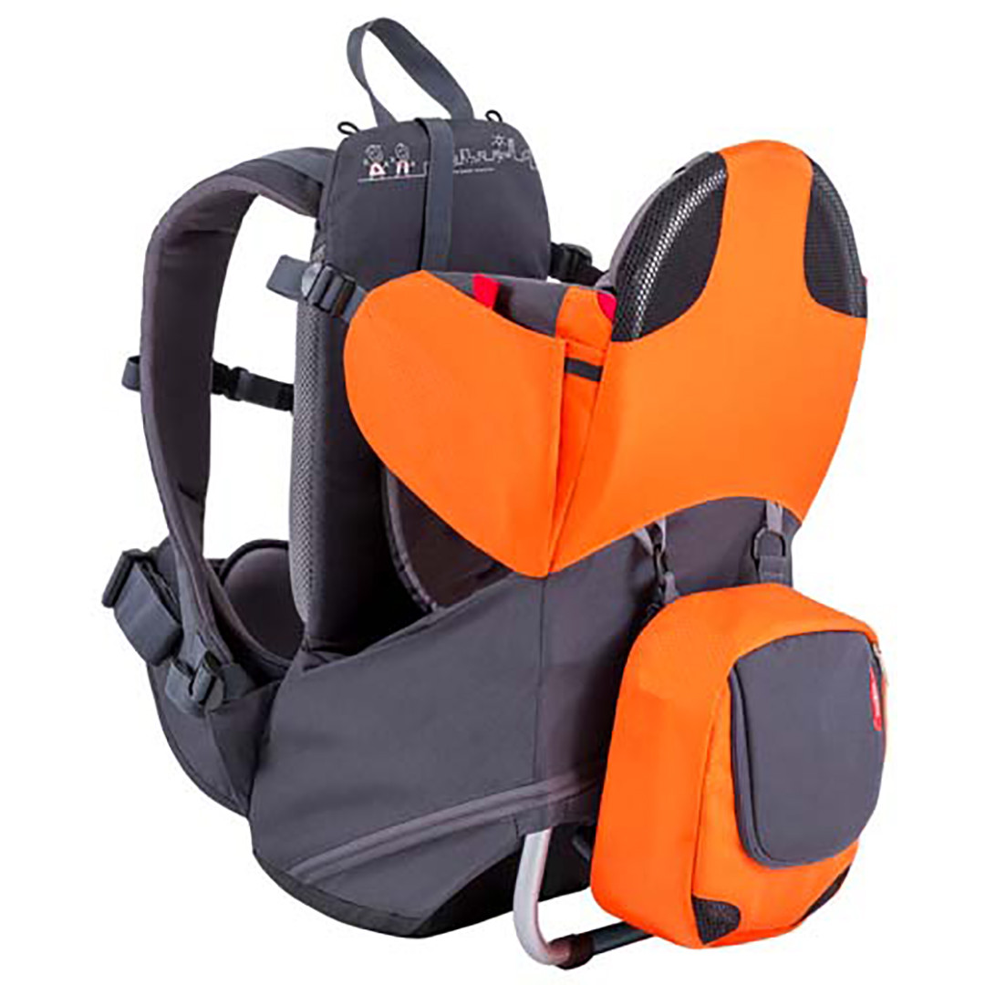 Phil & Teds Parade Baby Carrier - Orange
