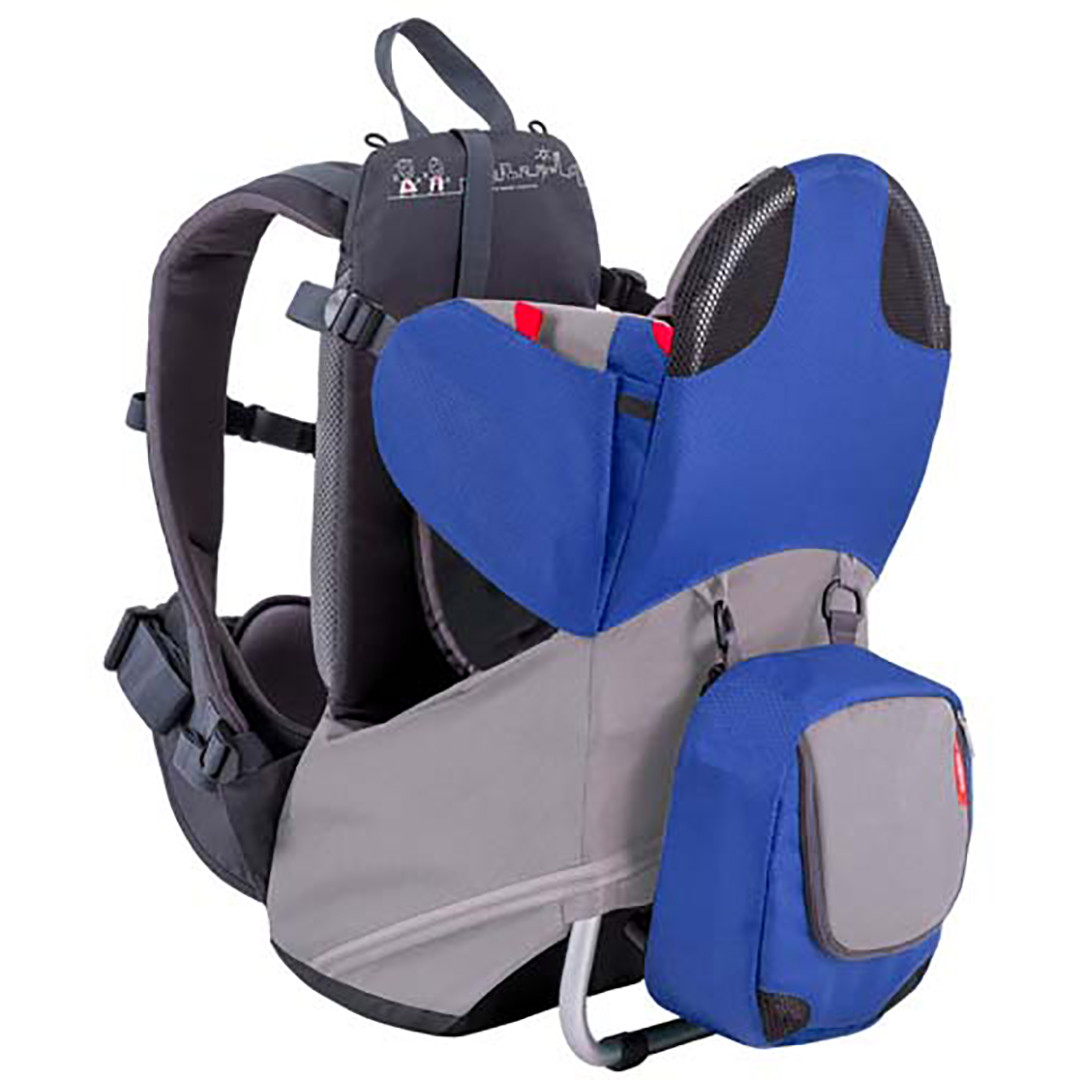 Phil & Teds Parade Baby Carrier - Blue