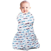Clevamama 3 in 1 Swaddle Bag (3 - 6 Months) - Blue