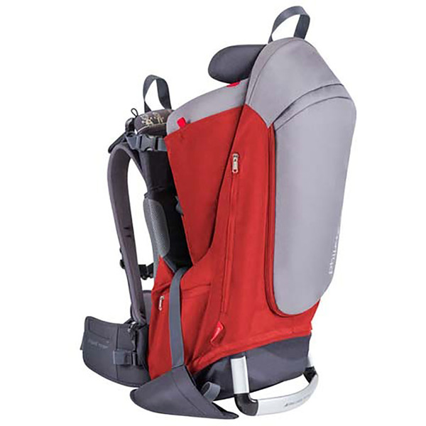 Phil & Teds Escape Baby Carrier - Red/Grey