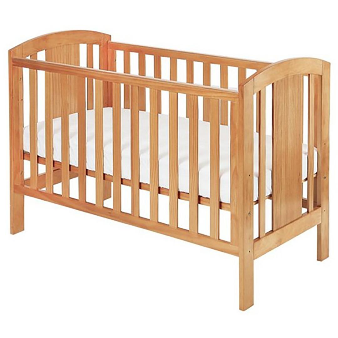 Baby Elegance Laba Cot - Pine