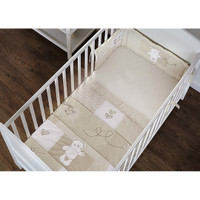 O Baby B is for Bear Bedding - Cream