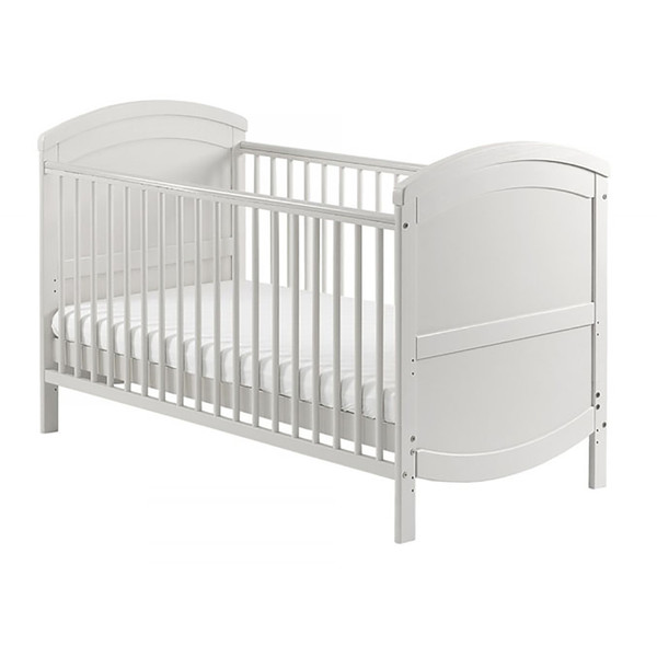 Baby Elegance Walt Cot Bed - White