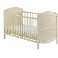 Baby Elegance Walt Cot Bed - Cream