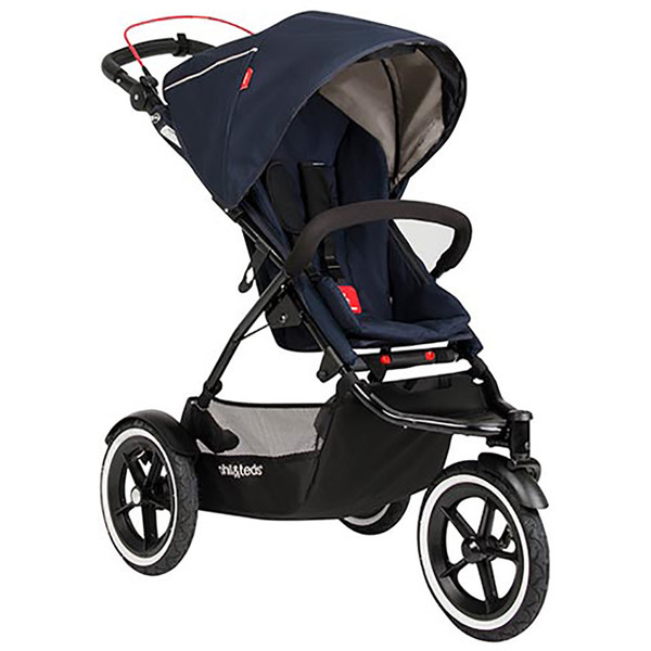 Phil & Teds Sport Buggy + FREE Double Kit - Midnight Blue