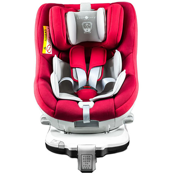 Cozy N Safe Merlin Group 0+/1 Car Seat - Red