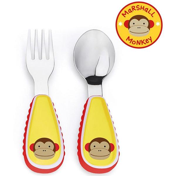 Skip*Hop Zootensils Fork & Spoon - Monkey